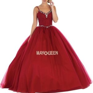 New formal gown,quiencenara,prom wedding dress